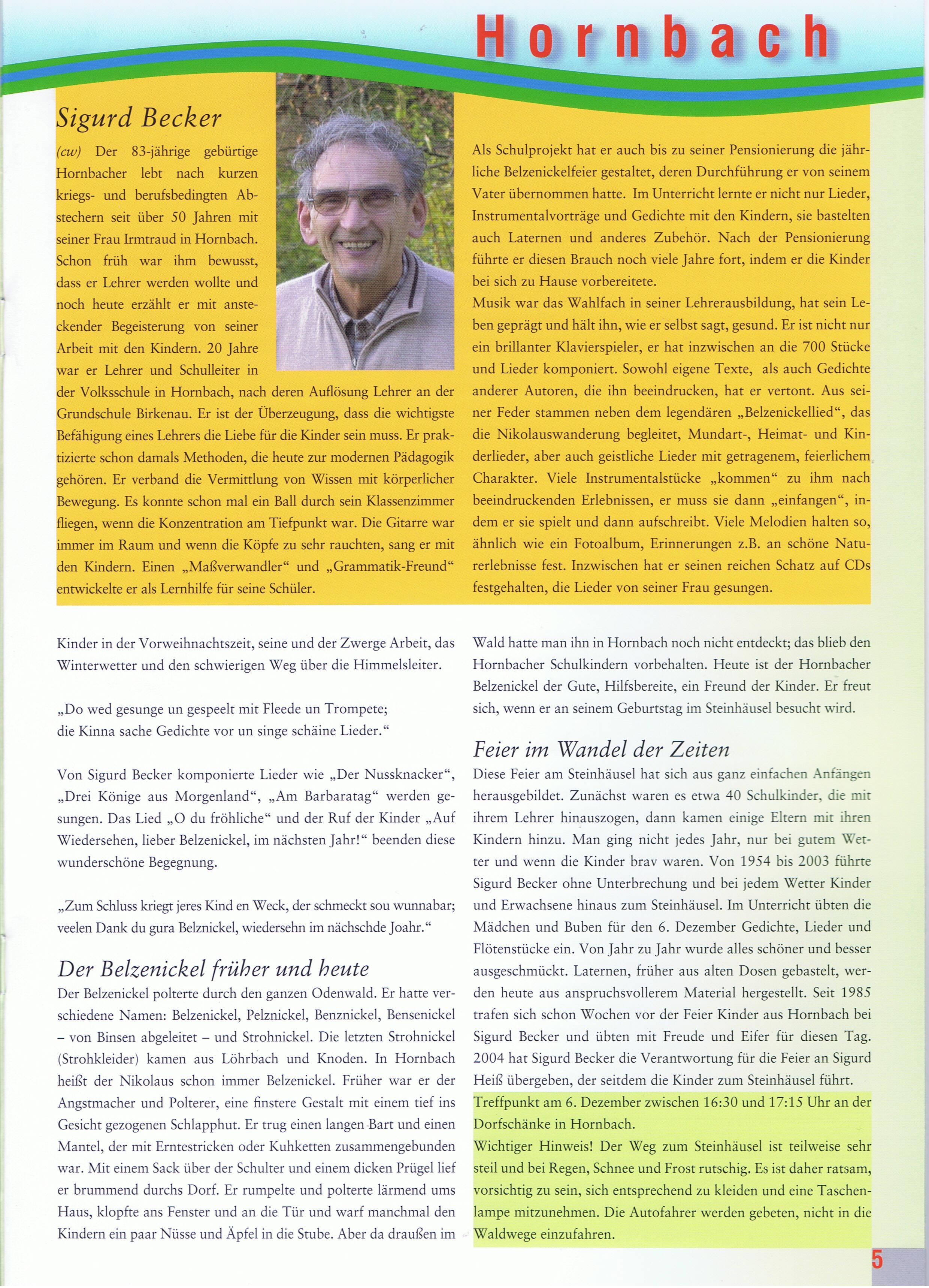 Weschnitzblitz-Bericht II 09-11-28